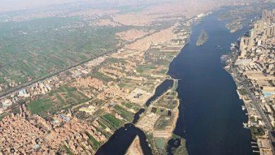 صورة السفارة الأمريكية لدى مصر تنشر صورة للقاهرة والنيل من الفضاء