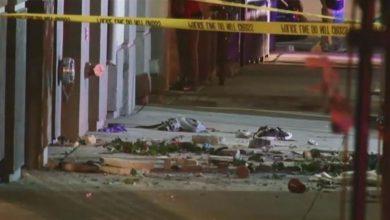 صورة إصابة تسعة أشخاص في انهيار شرفة بألمانيا