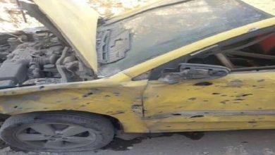 صورة إصابة امرأة وطفلة بسقوط قذائف في ريف حلب