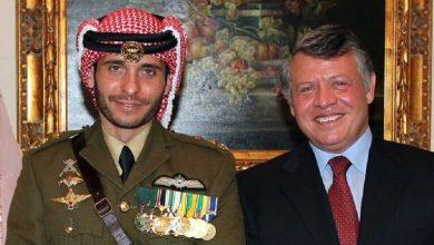 صورة العاهل الأردني: الأمير حمزة تصرف كهاو وبشكل مخيب للأمل وتم استغلال طموحاته