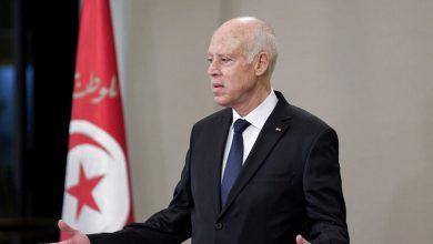 صورة سعيّد يلتقي رئيس مجلس القضاء الأعلى التونسي ويؤكد احترامه للدستور ومقتضياته
