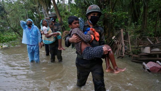 صورة الهند.. انهيار أرضي بسبب الأمطار الغزيرة يودي بحياة 7 أشخاص