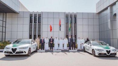 صورة شرطة دبي تعزز أسطولها من المركبات الفارهة بأسرع سيارة بالعالم